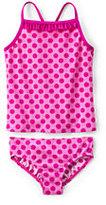 Classic Toddler Girls Tankini Swimsuit Set-White Large Paisley