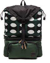 Marni Convertible Printed Nylon Backpack