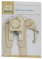 Hand Made Modern Pom Pom Maker 6ct - Animals