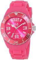 Haurex H2X Women's SF382DF1 Reef Luminous Water Resistant Hot Soft Rubber Watch