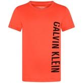 Calvin Klein Calvin KleinBoys Red Cotton Top