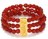 Satya Jewelry Gloria Bracelet in Carnelian