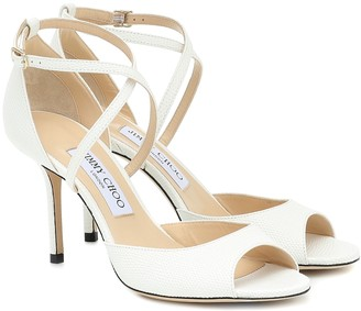 Jimmy Choo Emsy 85 leather sandals