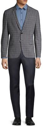 HUGO Arti Stretch Wool-Blend Jacket