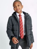 Marks and Spencer Hooded Zip Through Coat with StormwearTM (3-14 Years)