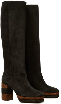 Tory Burch Platform Knee Boot