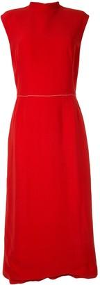 Marni button-up sleeveless dress