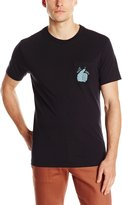RVCA Men's Well Done Pocket Tee