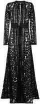 Elie Saab floral lace coat
