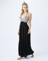 Accessorize Tia Embellished Top Maxi Dress