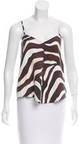 Mara Hoffman Zebra-Print Sleeveless top w/ Tags