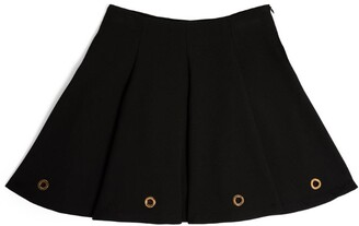 Versace Kids Greca Eyelets A-Line Skirt (4-14 Years)