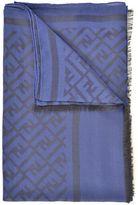 Fendi Wool And Silk Scarf