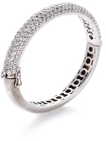 Rina Limor Fine Jewelry White Topaz Slender Bangle Bracelet
