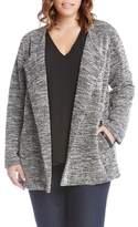 Karen Kane Lightweight Tweed Knit Jacket