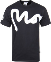 Money Big Sig Navy Crew Neck T-shirt
