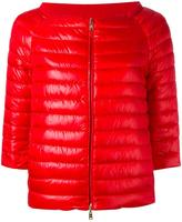 Herno three-quarters down jacket - women - Cotton/Polyamide/Polyethylene/Goose Down - 44