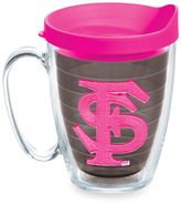 Tervis Florida State University Seminoles 15 oz. Colored Emblem Mug with Lid in Neon Pink