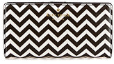 Kate Spade Market Street Collection Stacy Chevron Continental Wallet