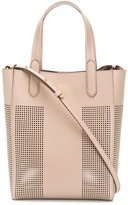 Tom Ford perfoated faux leather tote
