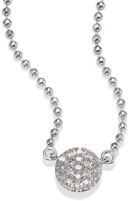 Phillips House Micro Infinity Diamond & 14K White Gold Pendant Necklace