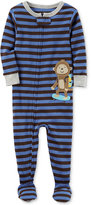 Carter's 1-Pc. Striped Monkey Footed Pajamas, Baby Boys (0-24 months)