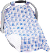 Pink Plaid Car Seat Cover