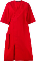 Sofie D'hoore poplin wrap dress - women - Cotton - 38