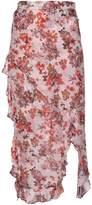 IRO Floral Printed Skirt