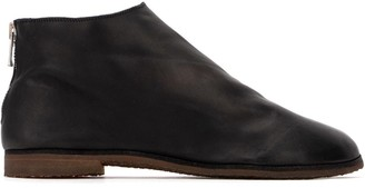 Guidi Back-Zip Ankle Boots