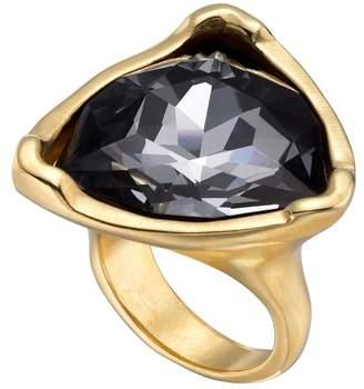 Uno de 50 Star-Tremendous Bezel Set Swarovski Crystal Accented Ring