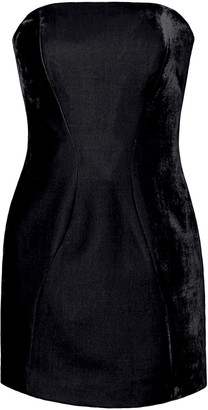 Michael Lo Sordo Velvet Mini Dress