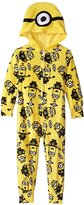 Despicable Me Little Girls' Minion Friends Hooded Blanket Sleeper