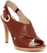 Via Spiga Onitta Leather Slingback Sandal