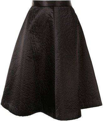 Comme Des Garçons Pre Owned Knee-Length Full Skirt