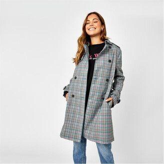 Jack Wills Mitford Check Trench