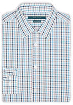 Perry Ellis Multi-Color Check Pattern Shirt