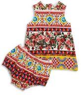 Dolce & Gabbana Baby's Abito Mixed Graphic Dress & Bloomer Set