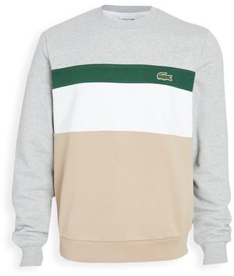 Lacoste Long Sleeve Colorblock Sweatshirt