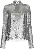 MSGM sequinned top