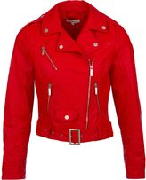 Morgan Faux Leather Bike Style Jacket