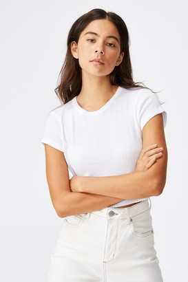Cotton On The Baby Sister Pointelle Tee