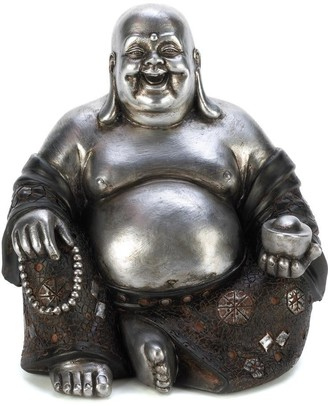 Overstock Hot Selling Happy Sitting Buddha Statue