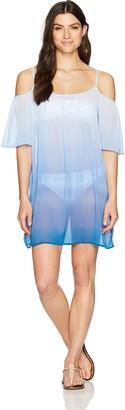 Bleu Rod Beattie Women's Cold Shoulder Dress Cover Up