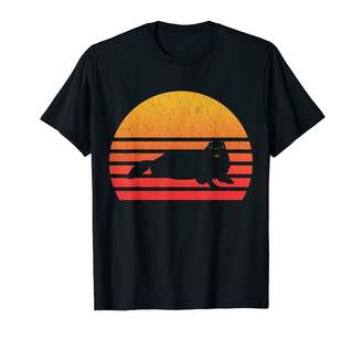 Marmot Classic Vintage Retro T Shirts Vintage Retro Sunset T-Shirt