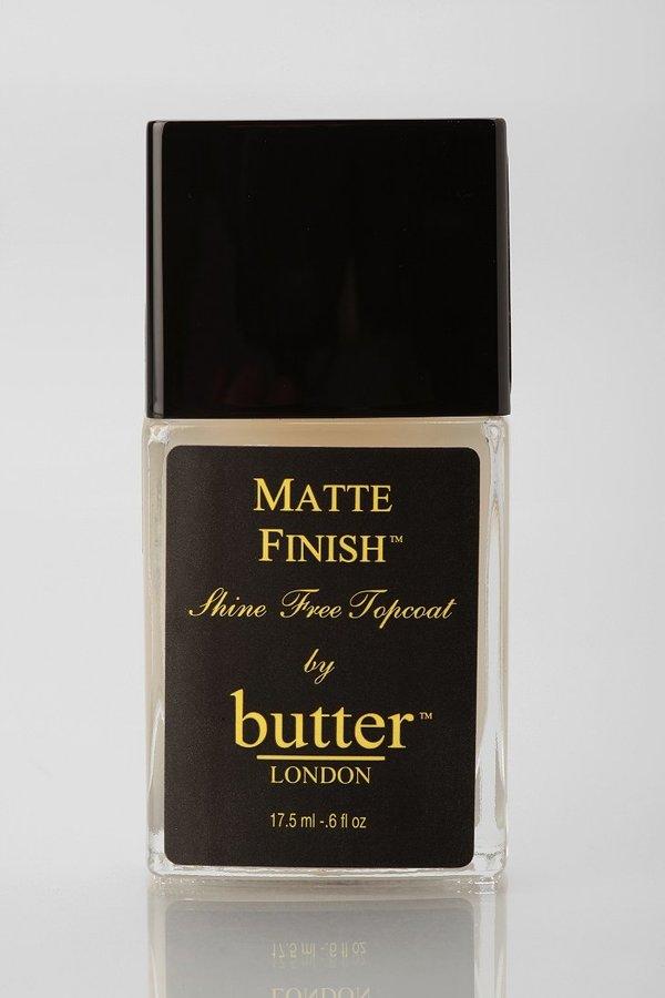Butter London Matte Top Coat Nail Polish