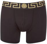 Versace Men's Iconic Trunk Boxer Shorts Black