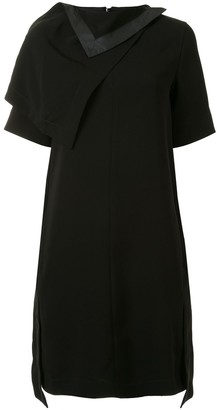 3.1 Phillip Lim Detachable Scarf Shift Dress