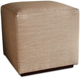 Somers Furniture New American Home 18-Inch Cube Ottoman with Sunbrella® Fabric in Wheat