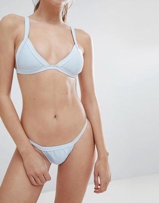 Charli Twiin Ribbed Micro Bikini Bottom